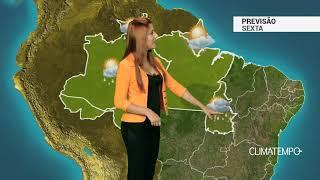 Previsão Norte - Chuva forte e com raios