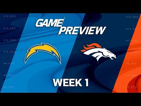 Los Angeles Chargers vs. Denver Broncos | Week 1 Game Preview | Good Morning Football