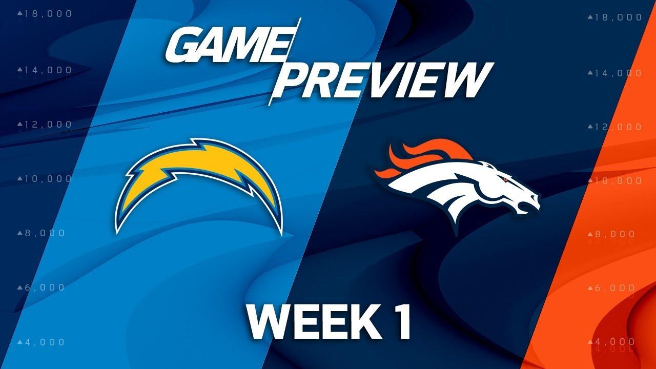 LA Chargers vs Denver Broncos Game Thread (Monday Night ...
