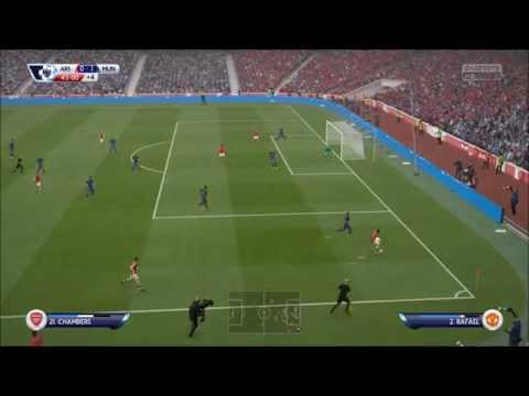 Fifa 15 Arsenal x Manchester United Xbox One Gameplay Full HD 1080p