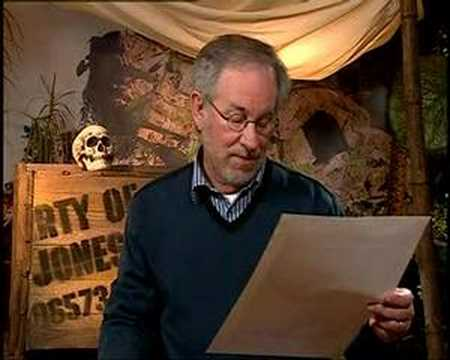 Steven Spielberg talking about his Short movie Amblin
