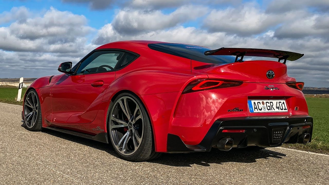 2020 Toyota Gr Supra By Ac Schnitzer Exhaust Mode Sounds Youtube Toyota gr supra 2l 2020 5k 5
