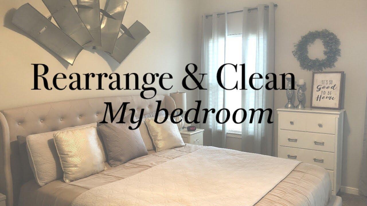 Rearrange With Me Clean My Bedroom