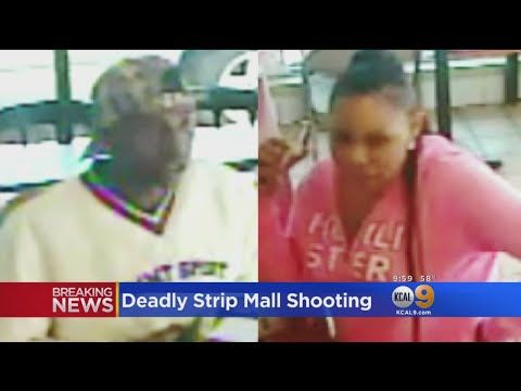 2 Dead In Inglewood Walk-Up Strip Mall Shooting