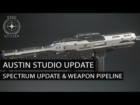 Austin Studio Update - Spectrum Development & Weapon Pipeline