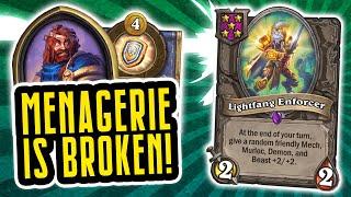 Lightfang NEEDS a NERF!   Battlegrounds   Hearthstone