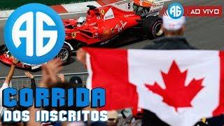 F1 2018 - CORRIDA DOS INSCRITOS - GP DO CANADÁ (Português-BR) QUER CORRER? LEIA A DESCRIÇÃO!
