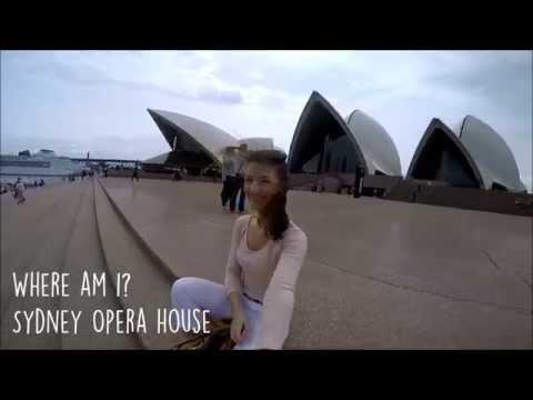 TRAVEL DIARIES #1 - Flight to Sydney, Opera house, National park // GoPro Hero 4