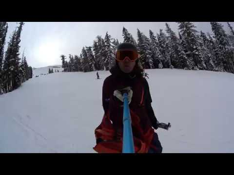 Skiing with Eva Lee