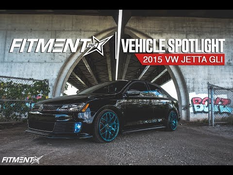 2015 VW Jetta GLI Spotlight- VMR V710 Wheel Review