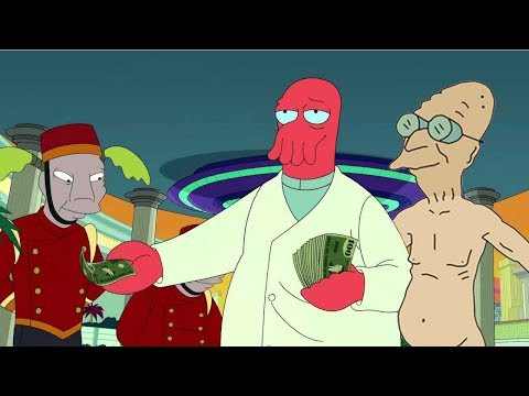 Unlocking Zoidberg and Nude Professor -- Big Spender in the