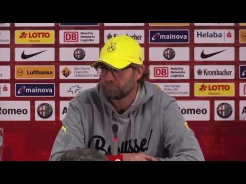 Pressekonferenz: Jürgen Klopp nach dem Spiel bei Eintracht Frankfurt (0:2)   BVB