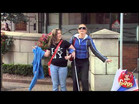Blind Woman Predicts Rain Prank – Just For Laughs Gags
