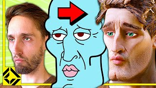 Using VFX to become Handsome Squidward