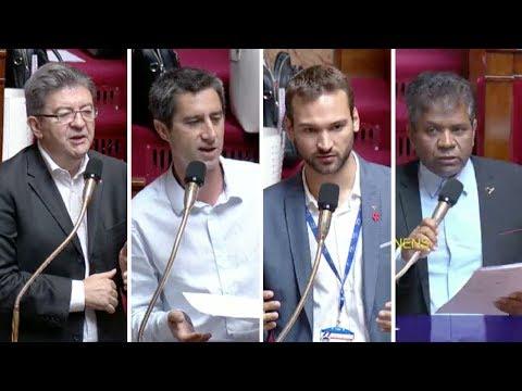 SALAIRES, TEMPS DE TRAVAIL, UBÉRISATION - Mélenchon, Ruffin, Bernalicis, Ratenon
