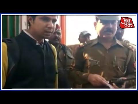 No Entry! People Dressed In Black Denied Entry To Yogi Adityanath-Amit Shah Programme In Varanasi