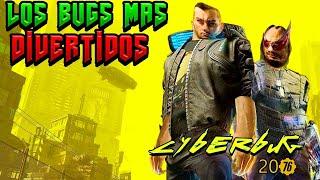 🔝 Los Bugs MÁS ALUCINANTES Y Divertidos !!! de CYBERPUNK 2077  🦾 😂