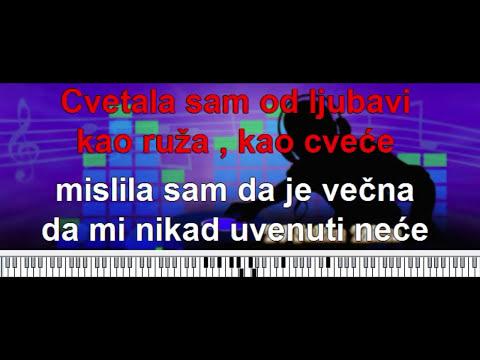 Uzmi me majko u krilo svoje (Semsa Suljakovic) - karaoke(matrica) + tekst i tutorijal