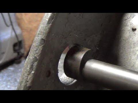 pratt whitney lathe restoration part 12b drive mount