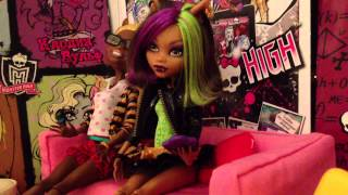[Stop motion] monster high день рождения Хоулин)))) 2 серия.