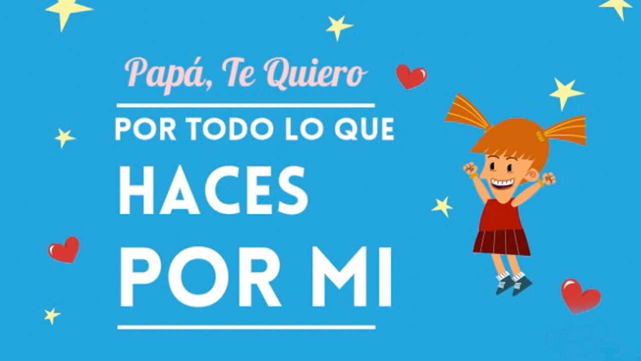 2a243a518163 Día del padre  ¡Felicidades papá! - YouTube