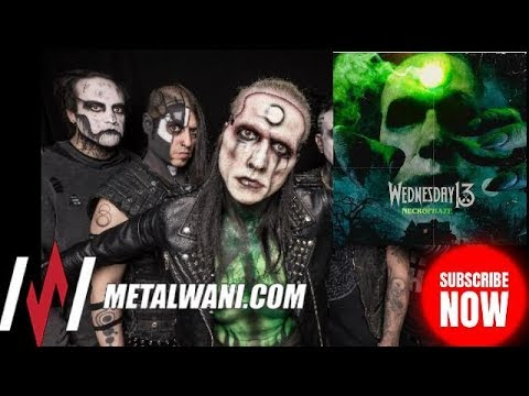 WEDNESDAY 13 on 'Necrophaze', Lost Art Of Owning A Physical Copy & Guest Musicians (2019)