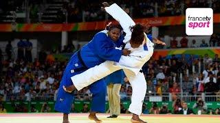 Judo (F) : Emilie Andéol apporte la première médaille d'or au judo français
