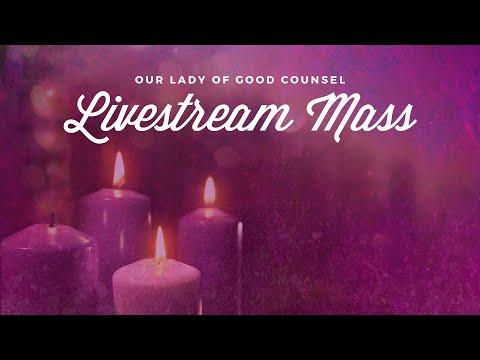 OLGC Plymouth Third Sunday of Advent 8AM Mass - 12/13/2020