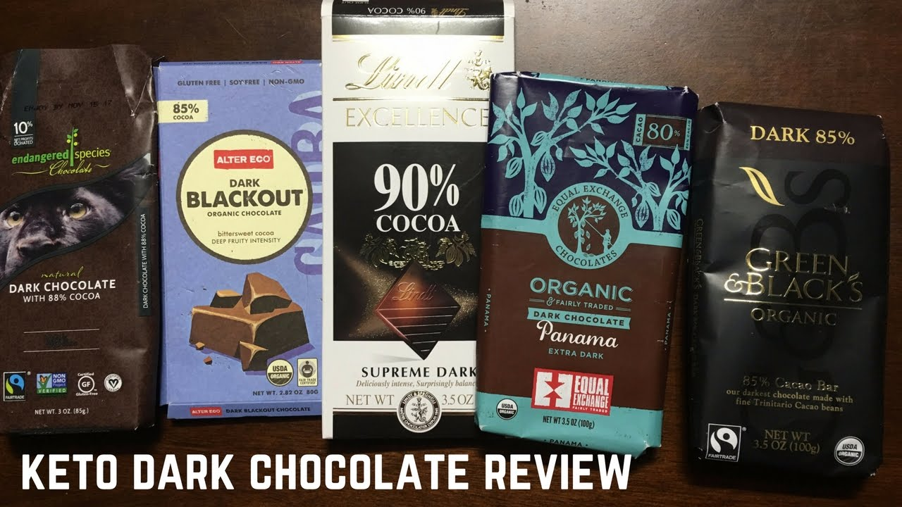 dark chocolate for keto diet