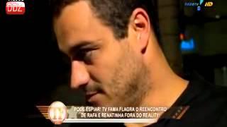 Repeat youtube video TV Fama - BBB Veja flagra do reencontro de Renatinha e Rafa