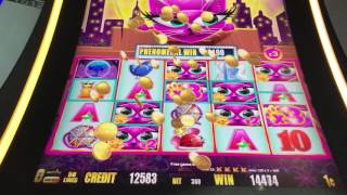 Miss Kitty Gold Max Bet Bonus Slot Machine Epic Big Win. Save the best spin for last. Nice!!