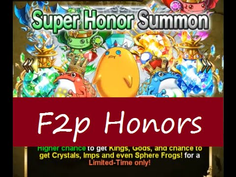 Brave Frontier F2P Episode 25: Super Honor Summons