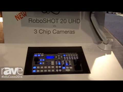 InfoComm 2016: Vaddio Introduces RoboSHOT 20 UHD 3 Chip Cameras