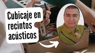 Càlculo de cubicaje recintos acùsticos