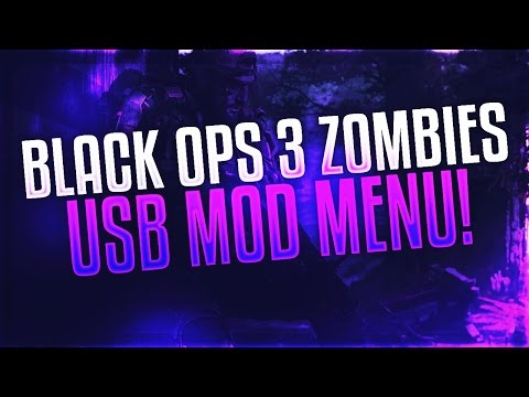 Black ops 3 Zombies: FREE USB Unlock ALL Lobby/Mod Menu + DOWNLOAD [Xbox, PS3, Xbox1, PS4]