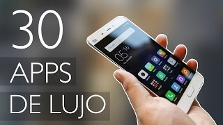 30 APPS DE LUJO! PARA ANDROID 2017 - IMPRESCINDIBLES