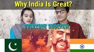 Why India Is Great?| Incredible India| Pakistani Reaction|