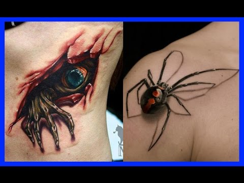 Tatuajes En 3d Youtube