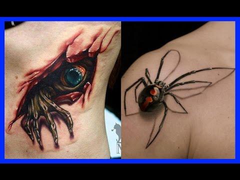 Tatuajes En 3d Youtube
