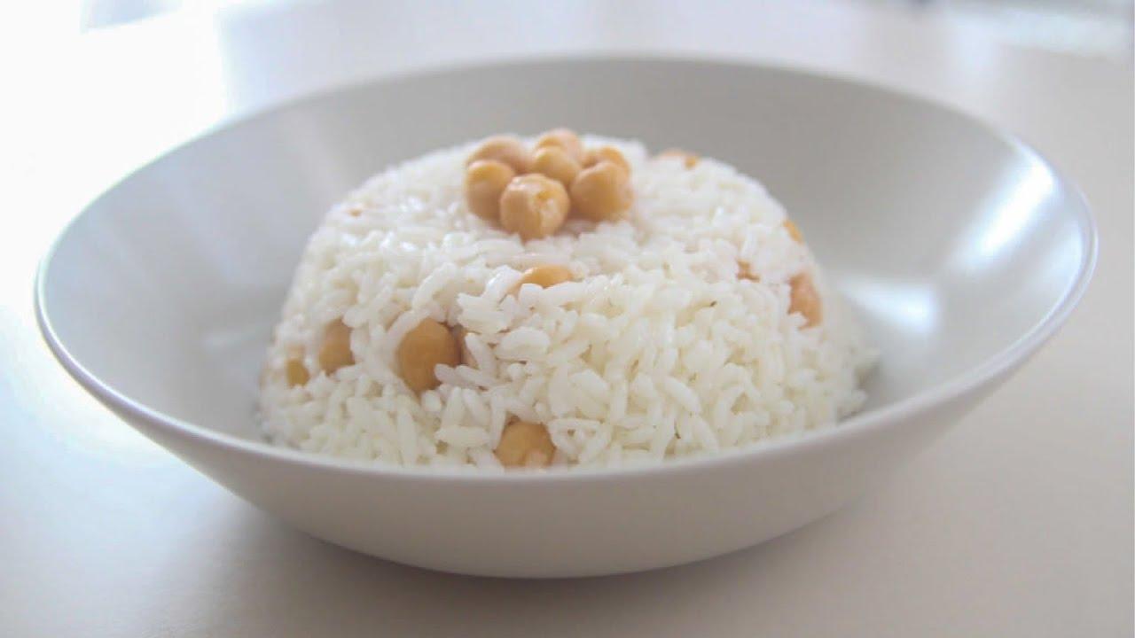 Chickpea Rice Pilaf Recipe  (Garbanzo Bean)  | Yummy