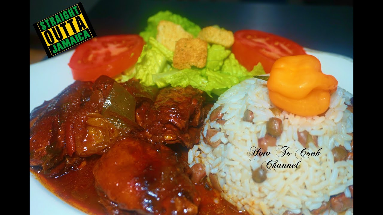 how to cook jamaican brown stew chicken  youtube
