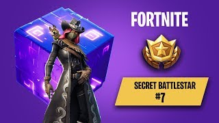 Fortnite Season 6 Week 7 - Secret BattleStar Location | Hunting Party Challenges