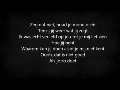 Lil' Kleine & Ronnie flex - Zeg Dat Niet (Lyrics)