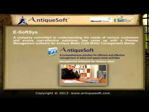 Antique Mall POS Software - AntiqueSoft
