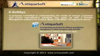 Http://www.antiquesoft.com/ antiquesoft, the antique mall management software, is a leading space rental and point of sale (pos) application. antiquesoft the...