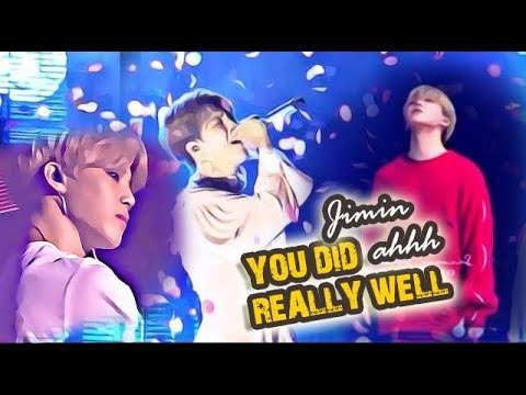 JIMIN BTS reaction to bad problem on stage - Just cry as much as you want,  you did really well