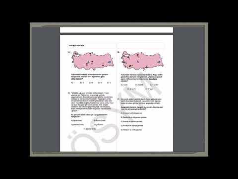 2016 KPSS Genel Kültür Sınav Soruları Ve Cevapları Ortaöğretim