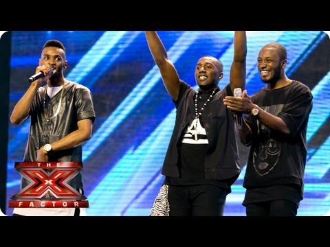 Rough Copy sing Little Things by One Direction - Arena Auditions Week 3 - The X Factor 2013