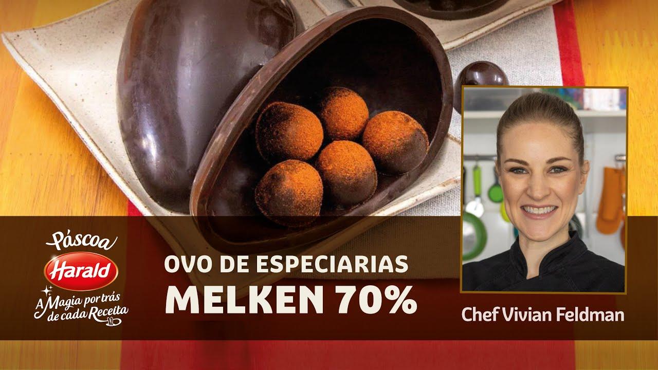 Ovo de Especiarias Melken 70%