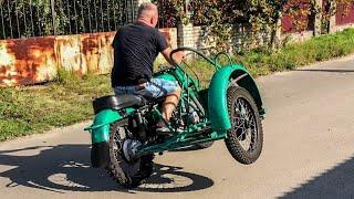 ЗВЕРЬ: Кроссовый УРАЛ с коляской 55 л.с. ИМЗ-8.201 Капсула Времени